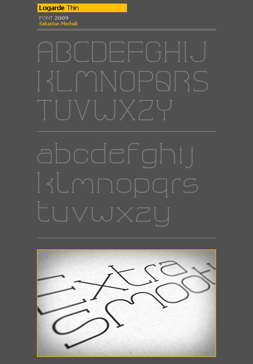 logarde_thin_typeface