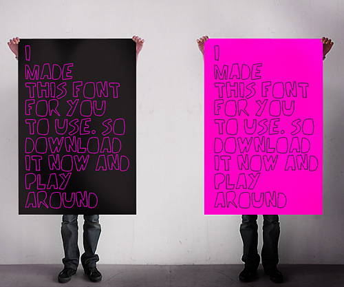 handmade_font