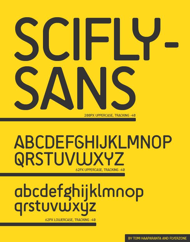 SciFly Sans Font Download