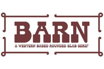 barn-western-font