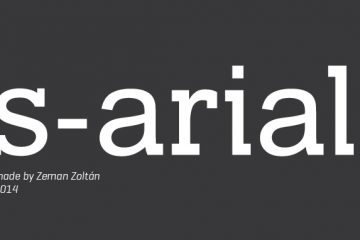 s-arial-free-font