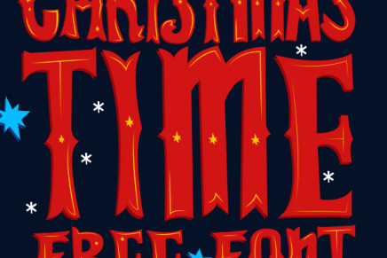 Free Font: Christmas Time