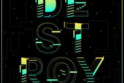 Free Font: Destroy Font