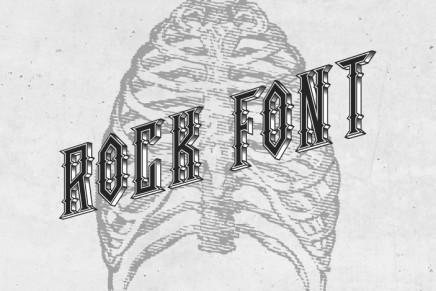 Free Font: Rock Font