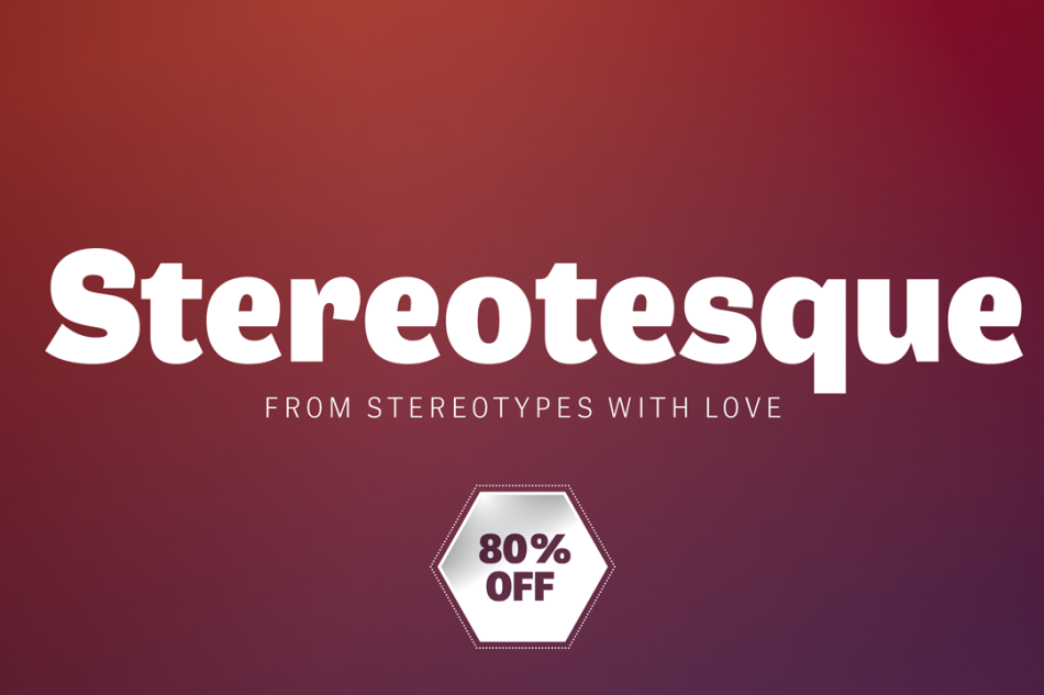 Premium Font: Stereotesque