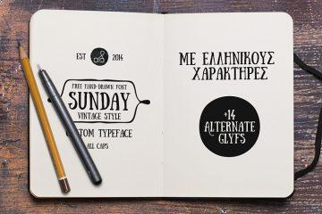 Sunday-free-font