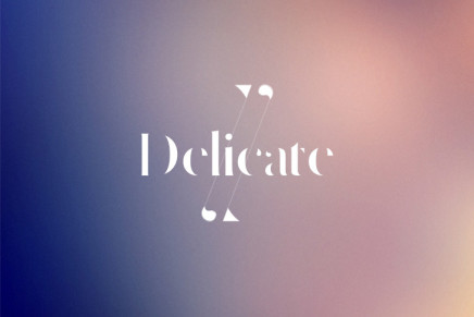 Free Font: Delicate