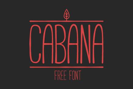 Free Font: Cabana