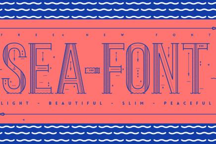 Free Font: Sea Font