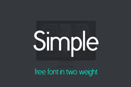 Free Font: Simple