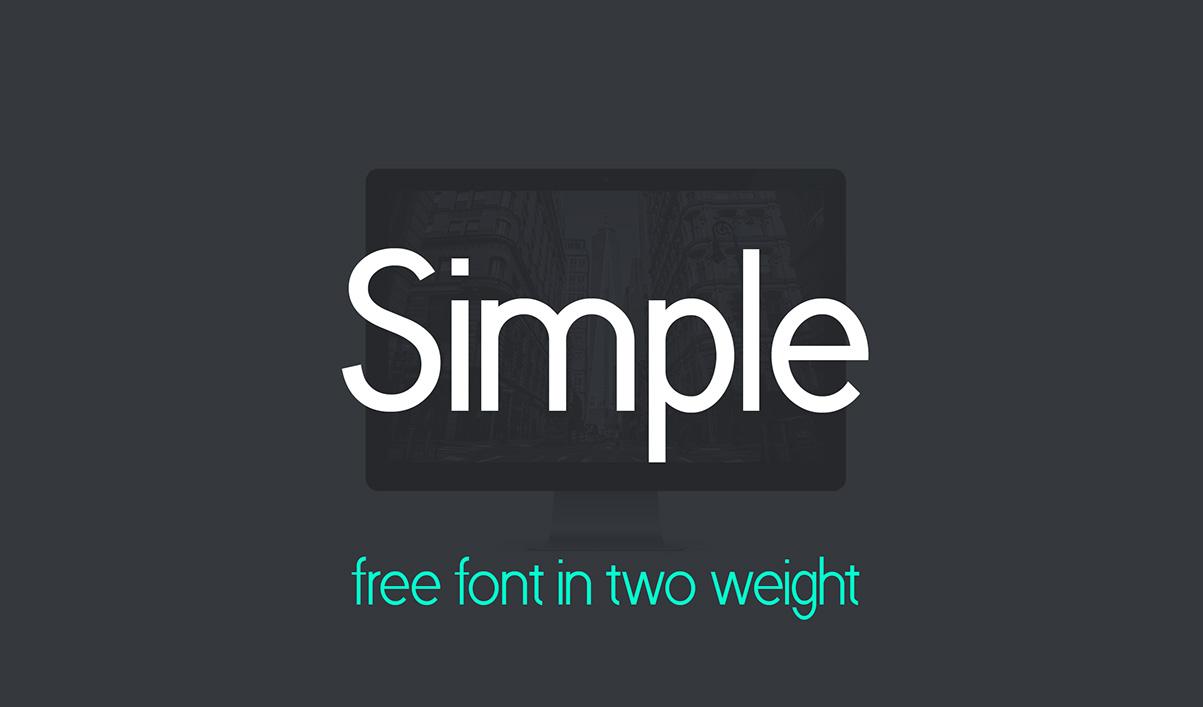 simple-premium-free-font