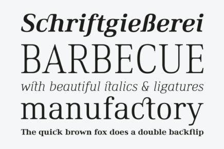 Free Font: Ethos Typeface