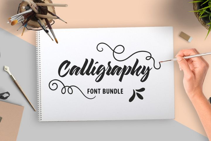 calligraphy-fonts-bundle