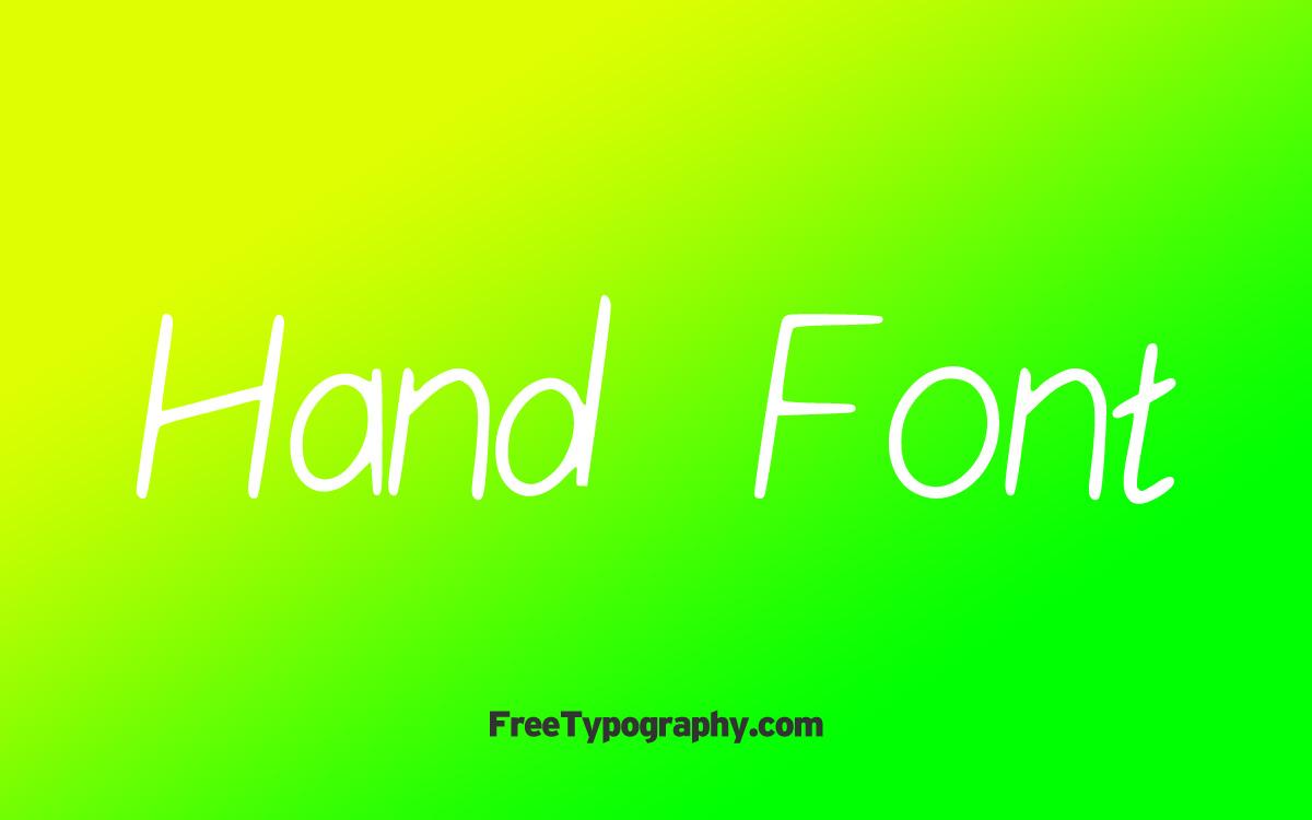 Hand-Font-01