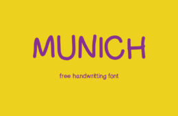 MunichFont