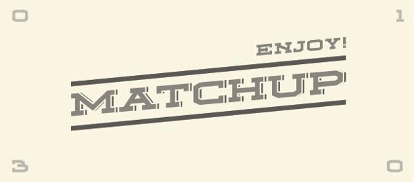 matchup-free-font-enjoy