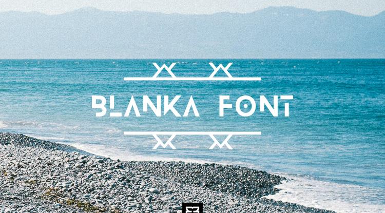 blanka-free-font