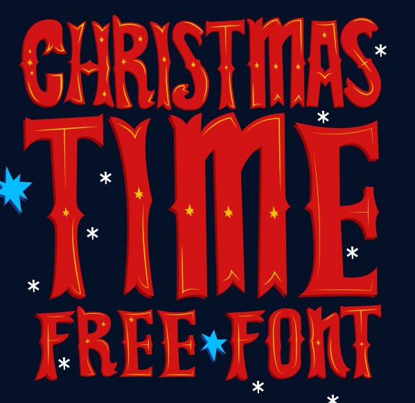 christmas-xmas-free-font