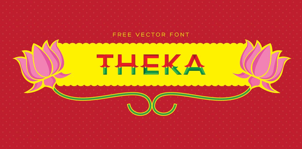 free font  theka  u203a freetypography
