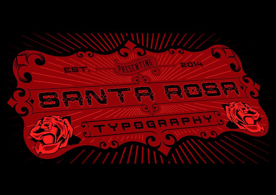 SantaRosa-free-font-01
