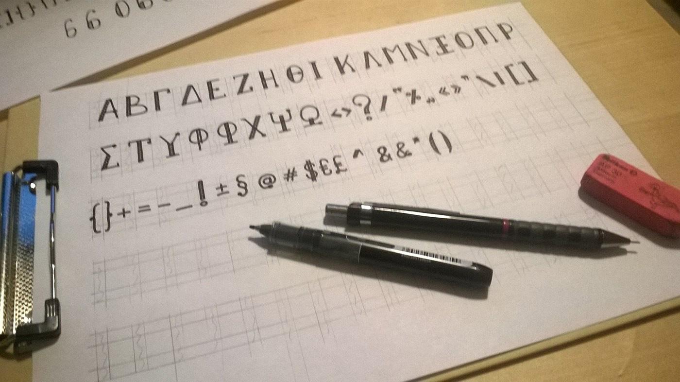 Nikolaidis-Handwriting-Lettering-font