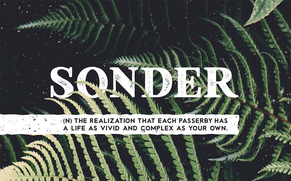 sonder-font