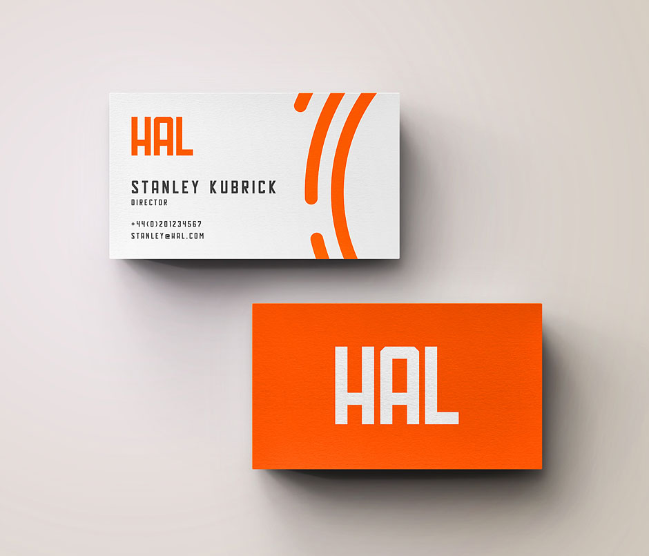 hal-free-font-typeface-business-cards