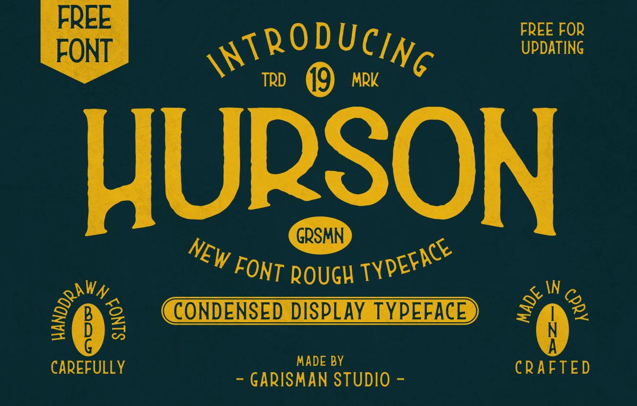 Hurson Free Font